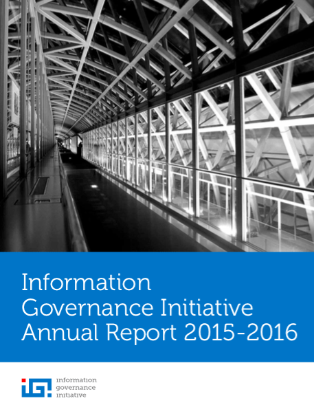 2015-2016 IGI Annual Report