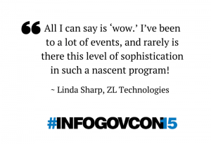 Linda Sharp InfoGovCon15