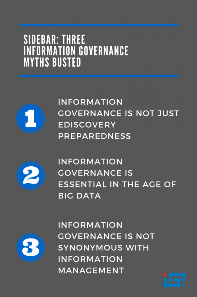 Sidebar-Three Information Governance Myths